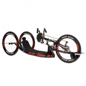 Invacare TopEnd Force RX Handcycle with Adjustable Carbon Fiber or Fixed Welded Back