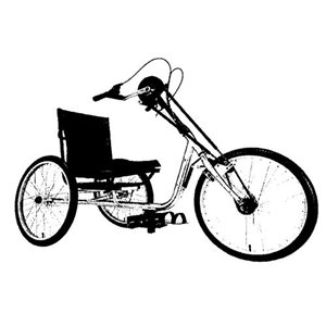 Eagle Sportschairs Roadrunner Handcycle