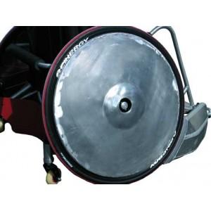 """Quad Rugby Aluminum or Titanium Wheel Spoke Protector (pair) - 24"""" (540mm) / 25"""" (559mm) / 26"""" (590mm)"""
