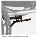 Wheel Brake Undermount Hideaway Lock (Pair)
