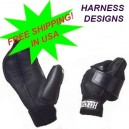 Harness 2 Pocket 2P Wheelchair Racing Glove (pair) FREE USA S/H