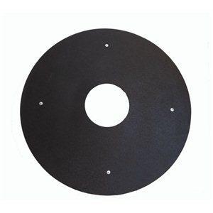 Black and Clear Poly Spoke Guard Protectors (pair)